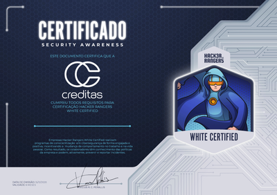 CREDITAS - Hacker Rangers White Certified