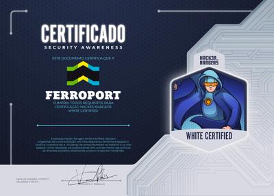 FERROPORT - Hacker Rangers White Certified