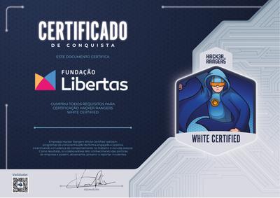 Fundação Libertas - Hacker Rangers White Certified