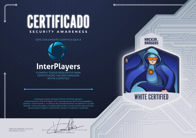InterPlayers - Hacker Rangers White Certified