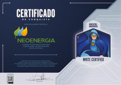 NEOENERGIA - Hacker Rangers White Certified