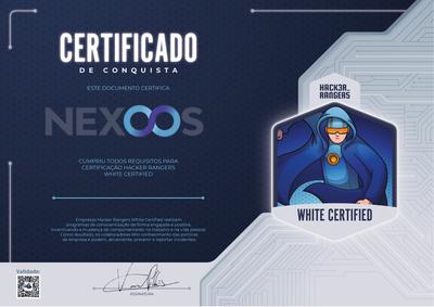 Nexoos - Hacker Rangers White Certified