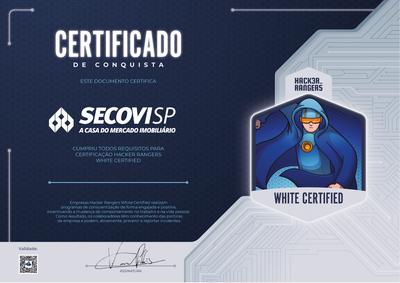 Secovi - Hacker Rangers White Certified