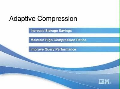 Compressão Adaptativa do DB2 LUW na versão 10.1
