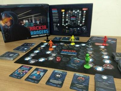 Hacker Rangers versão tabuleiro